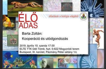 Barta Zoltán: Kooperáció és utódgondozás