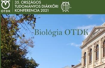 Díjeső a Biológia OTDK-n