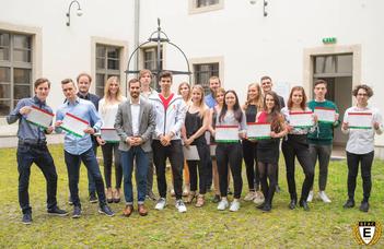 ELTE sportösztöndíjas hallgatók a Biológiai Intézetben