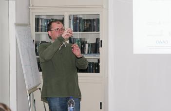 Prof. Valery Grinevich előadása a Biológiai Intézetben