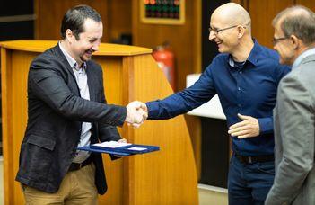Lőrincz Péter nyerte a Győrffy Barna díjat