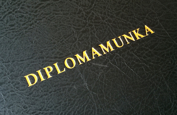 Biológus MSc diplomamunka
