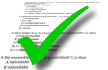 Biológia BSc kritériumtárgyak