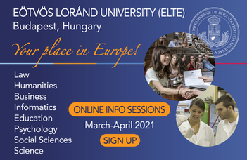 Info session: study biology at the leading university of Hungary